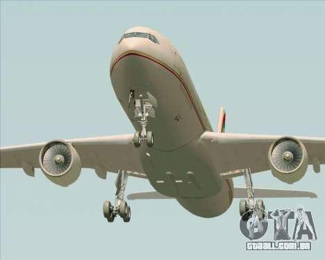 Airbus A330-300 Etihad Airways para o motor de GTA San Andreas