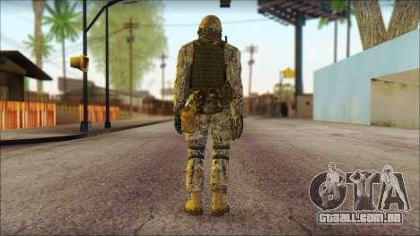 USA Soldier v1 para GTA San Andreas segunda tela