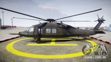 Sikorsky MH-X Silent Hawk [EPM] v2.0 para GTA 4 esquerda vista