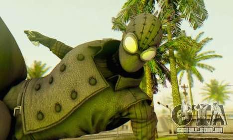 Skin The Amazing Spider Man 2 - DLC Noir para GTA San Andreas terceira tela