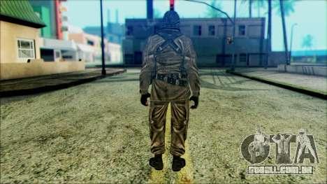 Soldados a bordo (CoD: MW2) v6 para GTA San Andreas segunda tela