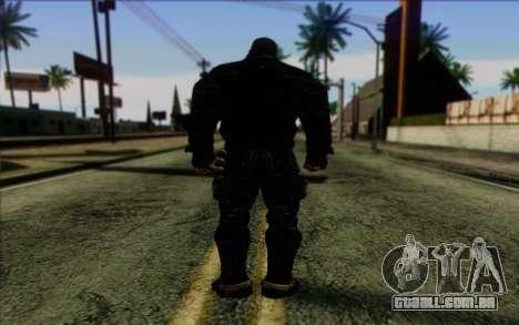 Bane from Batman: Arkham Origins para GTA San Andreas segunda tela
