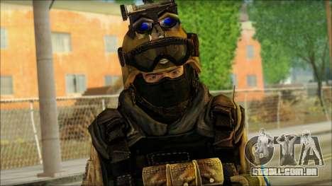 Mercenário (SC: Blacklist) v3 para GTA San Andreas terceira tela
