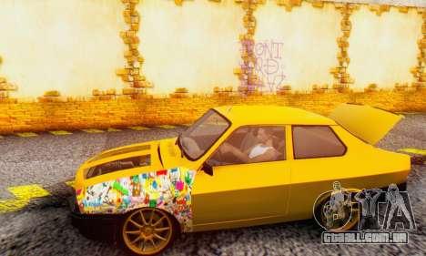 Dacia 1310 Sport Tuning v2 para GTA San Andreas traseira esquerda vista