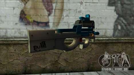 P90 from PointBlank v5 para GTA San Andreas segunda tela