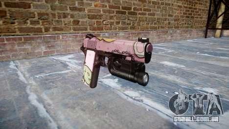 Arma Kimber 1911 Kawaii para GTA 4