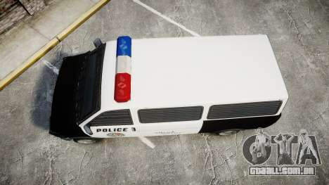Declasse Burrito Police Transporter ROTORS [ELS] para GTA 4 vista direita