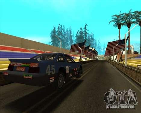Sky Road Merdeka para GTA San Andreas terceira tela