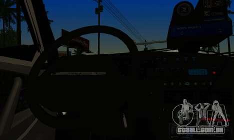 VAZ 2114 DPS para GTA San Andreas traseira esquerda vista