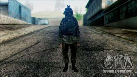 Soldados a bordo (CoD: MW2) v1 para GTA San Andreas