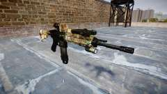 Automatic rifle Colt M4A1 ronin