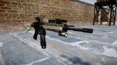 Automatic rifle Colt M4A1 de fibra de carbono