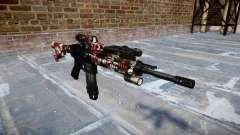 Automatic rifle Colt M4A1 estão vermelhos para GTA 4