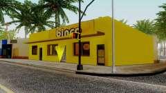 Novas texturas para Binco na grove street