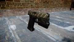 Pistola Glock de 20 de fibra de carbono