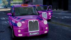 London Taxi Cab v1 para GTA 4