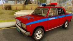 VAZ 2107 Polícia