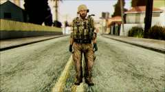 Lutador (PLA) v3 para GTA San Andreas