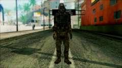 Um soldado da equipe de 4 Phantom