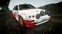 Ford Escort RS Cosworth 2.0 SA Competions para GTA 4