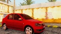 Dacia Logan Delta Garage para GTA San Andreas