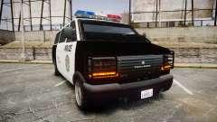 Declasse Burrito Police Transporter ROTORS [ELS] para GTA 4