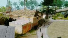 Novas texturas casas na grove street