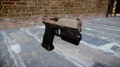Pistola Glock de 20 de cereja blososm
