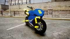 Yamaha R1 2007 Stunt para GTA 4