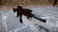 Automatic rifle Colt M4A1 arte da guerra