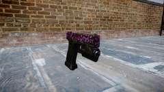 Pistola Glock de 20 party rock para GTA 4