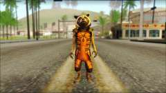 Guardians of the Galaxy Rocket Raccoon v2 para GTA San Andreas