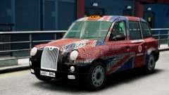 London Taxi Cab v2 para GTA 4