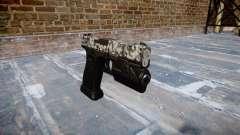 Pistola Glock de 20 de diamante para GTA 4