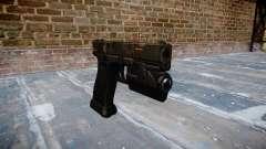 Pistola Glock de 20 ce digital