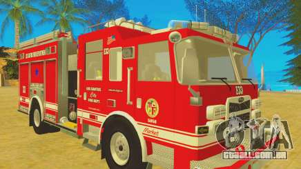 Pierce Arrow XT 2008 Los Santos Fire Department para GTA San Andreas