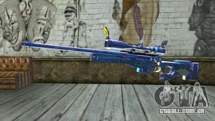 Graffiti Sniper Rifle v2 para GTA San Andreas