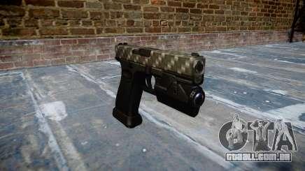 Pistola Glock de 20 de fibra de carbono para GTA 4