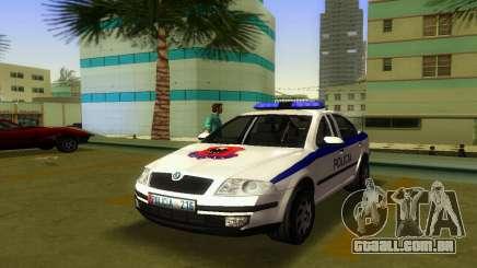 Skoda Octavia Albanian Police Car para GTA Vice City