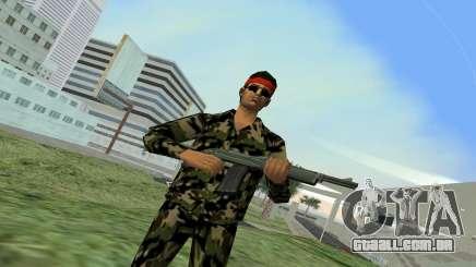 Camo Skin 01 para GTA Vice City