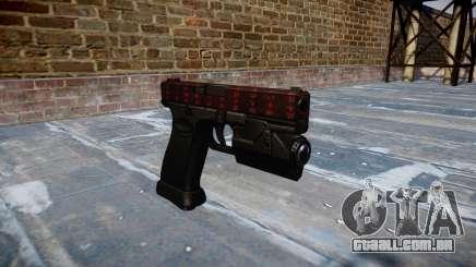 Pistola Glock de 20 a arte da guerra para GTA 4