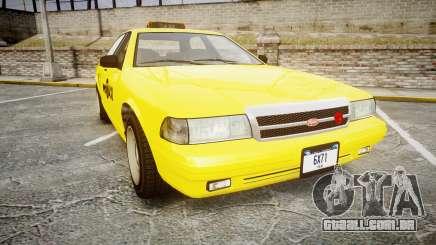 GTA V Vapid Taxi NYC para GTA 4