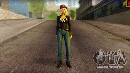 Eva Girl v2 para GTA San Andreas