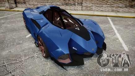 Lamborghini Egoista para GTA 4