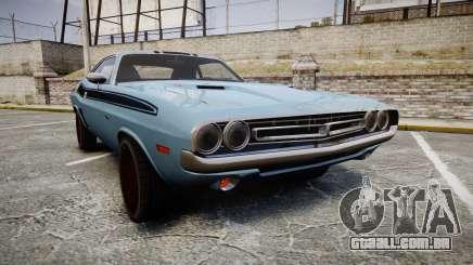 Dodge Challenger 1971 v2.2 PJ2 para GTA 4