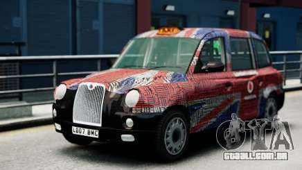 London Taxi Cab v2 para GTA 4