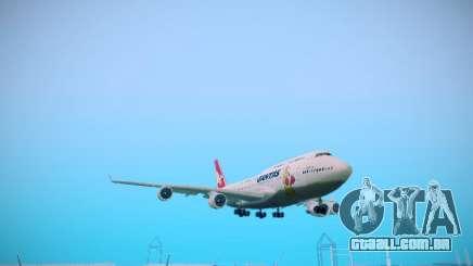 Boeing 747-438 Qantas Boxing Kangaroo para GTA San Andreas
