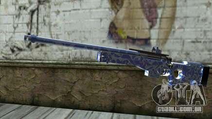 Graffiti Rifle para GTA San Andreas