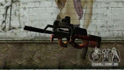 P90 from PointBlank v3 para GTA San Andreas