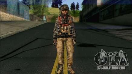 Task Force 141 (CoD: MW 2) Skin 16 para GTA San Andreas